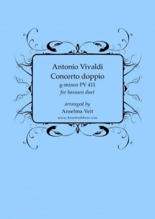 Antonio Vivaldi - Concerto Doppio PV 411 - Partition - di-arezzo.com
