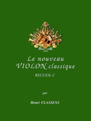 Le Nouveau Violon Classique Volume C - CLASSENS - laflutedepan.com