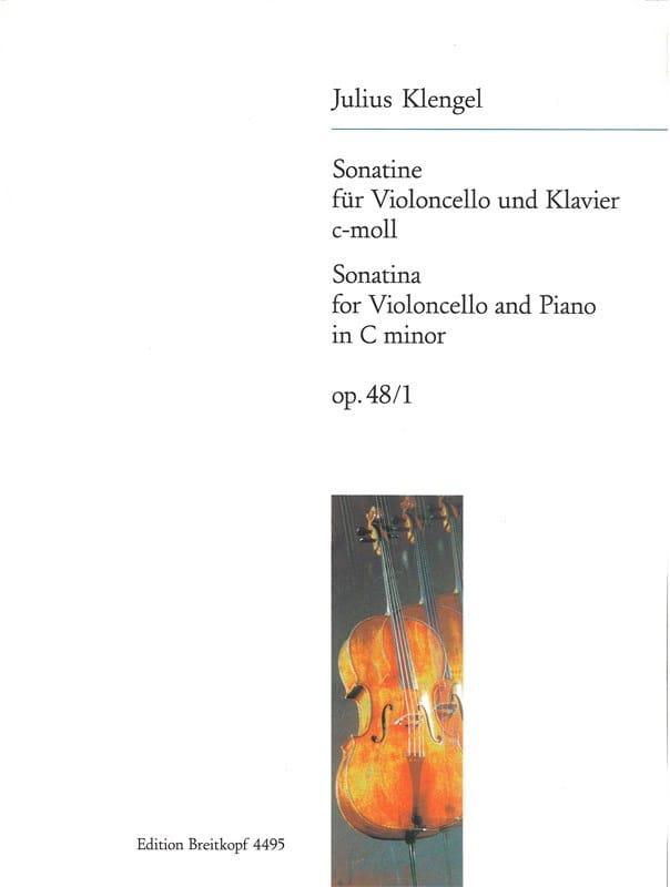 Sonatine c-moll op. 48 n° 1 - Julius Klengel - laflutedepan.com