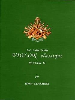 Le Nouveau Violon Classique Volume D CLASSENS Partition laflutedepan
