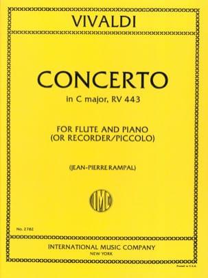 Concerto in C Major RV 443 F. 6 n° 4 - Piccolo piano laflutedepan