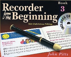 Recorder From The Beginning Book 3 John Pitts Partition laflutedepan