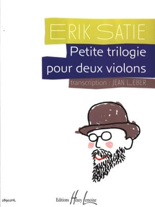 Petite Trilogie pour 2 Violons SATIE Partition Violon - laflutedepan