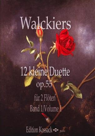12 Kleine Duette, Op. 55 Heft 1 Eugene Walckiers laflutedepan