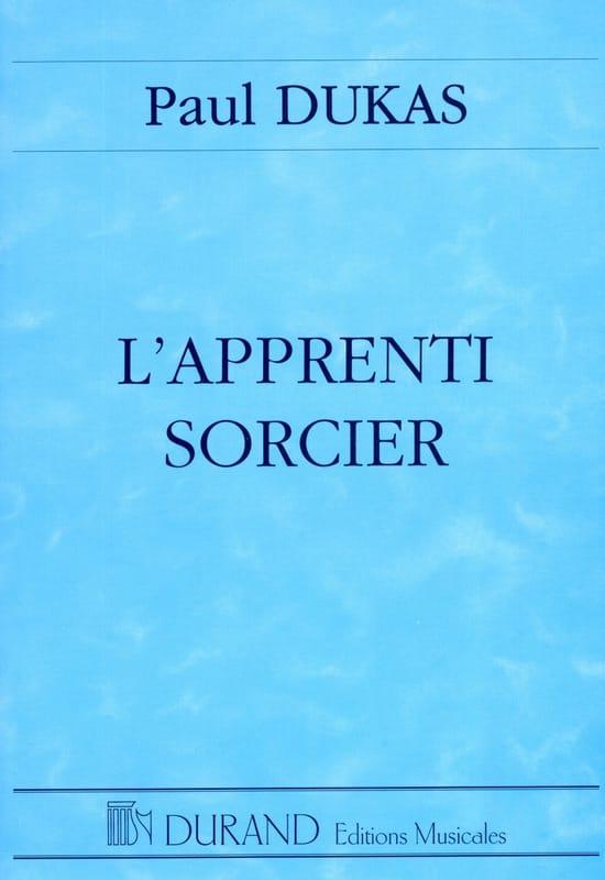 L' Apprenti Sorcier - DUKAS - Partition - laflutedepan.com