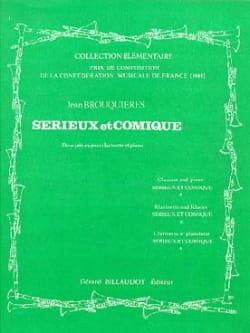 Sérieux et Comique Jean Brouquières Partition laflutedepan