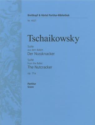 Nußknacker-Suite Op 71a TCHAIKOVSKY Partition laflutedepan