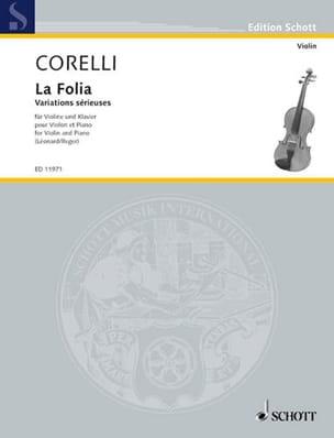 La Folia op. 5 n° 12 Corelli Arcangelo / Léonard H. laflutedepan