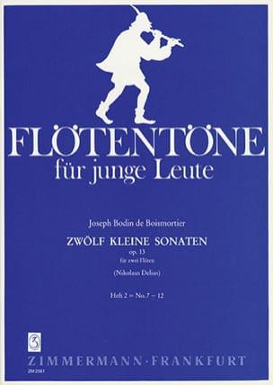 12 Kleine Sonaten op. 13 - Heft 2 - 2 Flöten - laflutedepan.com