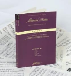 Méthodes et Traités Volume 3 - Basson Partition laflutedepan