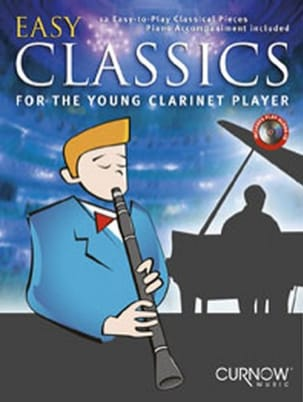 Easy Classics for the Young Clarinet Player Partition laflutedepan