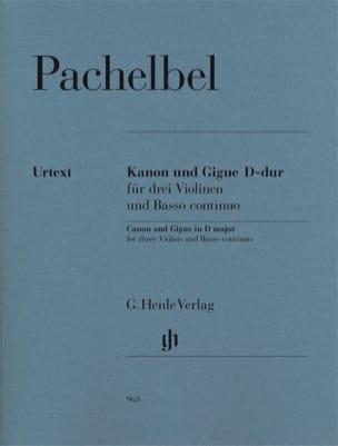 Canon et Gigue en Ré Majeur PACHELBEL Partition Trios - laflutedepan