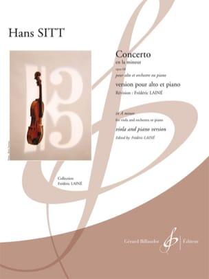 Concerto en la mineur - Opus 68 Hans Sitt Partition laflutedepan