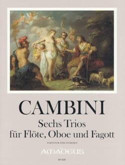 6 Trios, op. 45 - Flûte, Hautbois et Basson - laflutedepan.com
