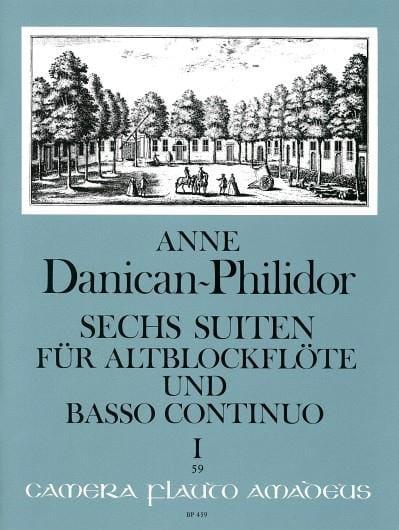 6 Suiten Volume 1 - Anne Danican-Philidor - laflutedepan.com