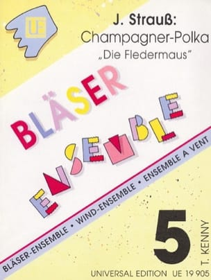 Champagner-Polka aus Die Fledermaus -Bläser-Ensemble laflutedepan