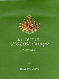 Le Nouveau Violon Classique Volume F CLASSENS Partition laflutedepan