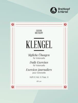 Tägliche Übungen - Heft 2 Julius Klengel Partition laflutedepan