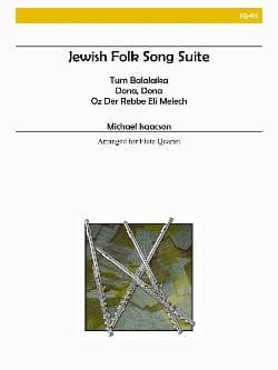 Jewish folk song suite - Flute quartet Michael Isaacson laflutedepan