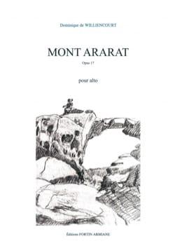 Mont Ararat - Alto seul Dominique de Williencourt laflutedepan