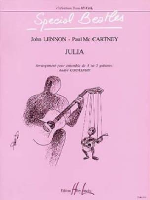 Julia - 4/5 Guitares - Beatles - Partition - laflutedepan.com
