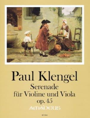 Sérénade, op. 45 - Violon et Alto - Paul Klengel - laflutedepan.com