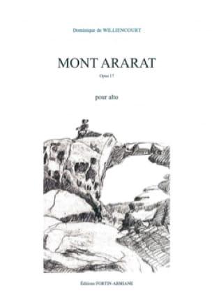 Mont Ararat - Alto seul - Dominique de Williencourt - laflutedepan.com