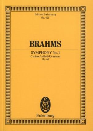 BRAHMS - Symphony No. 1 C Minor Op. 68 - Conductor - Partition - di-arezzo.com