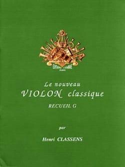 Le Nouveau Violon Classique Volume G CLASSENS Partition laflutedepan