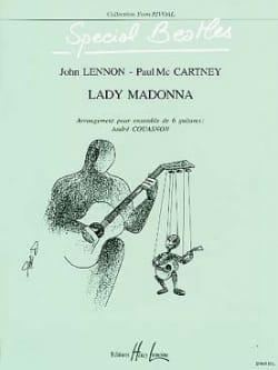 Lady Madonna - 6 Guitares The Beatles Partition Guitare - laflutedepan