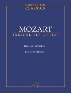 Trios Pour Cordes - Conducteur MOZART Partition laflutedepan