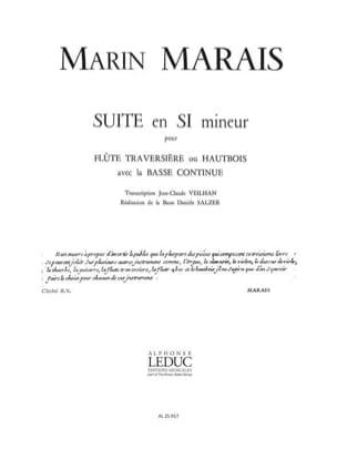 Suite en si mineur - Flûte et Bc - Marin Marais - laflutedepan.com