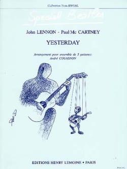 Yesterday - 5 Guitares (The) Beatles Partition Guitare - laflutedepan
