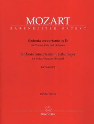 Sinfonia Concertante Es KV 364 - Conducteur MOZART laflutedepan