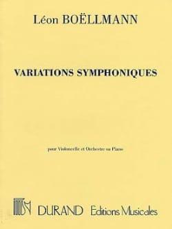 Variations Symphoniques Op. 23 Léon Boëllmann Partition laflutedepan