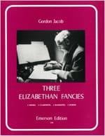 3 Elizabethan Fancies -Score + parts Gordon Jacob laflutedepan