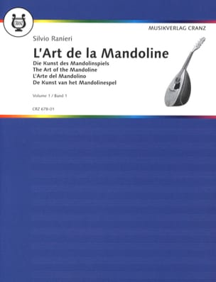 L'art de la mandoline - Volume 1 S. Ranieri Partition laflutedepan