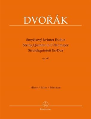 Quintette à cordes en mi bémol majeur, op. 97 DVORAK laflutedepan