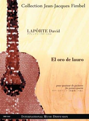El oro de lauro - David Lapôtre - Partition - laflutedepan.com