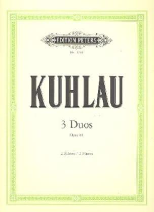 3 Duos op. 81 - 2 Flöten - Friedrich Kuhlau - laflutedepan.com