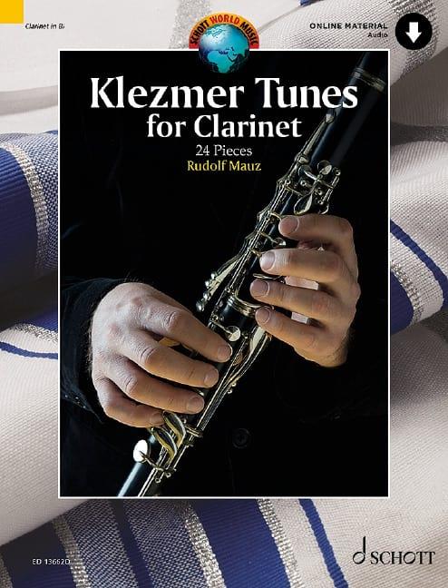 Klezmer Tunes pour Clarinette - Rudolf Mauz - laflutedepan.com