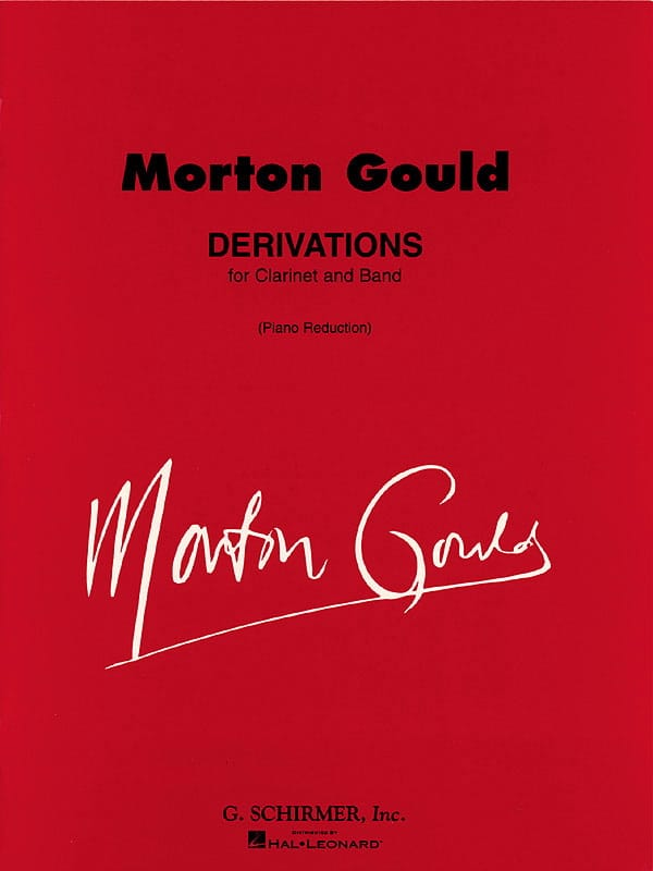 Derivations - Morton Gould - Partition - Clarinette - laflutedepan.com