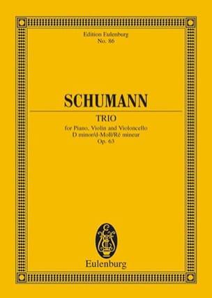 Klavier-Trio d-moll - SCHUMANN - Partition - laflutedepan.com