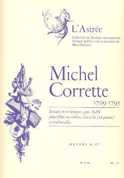 Sonate en ré mineur op.13 -Flûte clavecin CORRETTE laflutedepan
