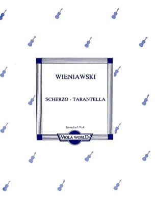 Scherzo-Tarantella - Viola - WIENAWSKI - Partition - laflutedepan.com