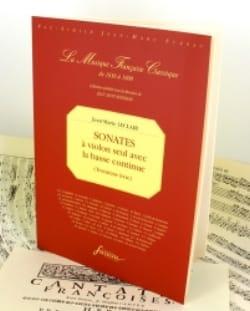 Sonates 3ème livre - Fac simile LECLAIR Partition laflutedepan