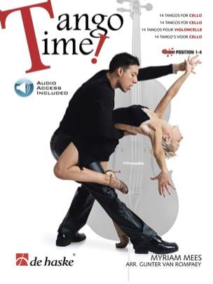 Tango Time for Cello Myriam Mees Partition Violoncelle - laflutedepan
