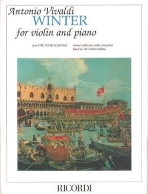 L'Hiver Winter - Violin and piano - VIVALDI - laflutedepan.com
