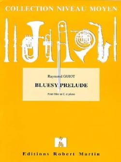 Bluesy prelude Raymond Guiot Partition laflutedepan