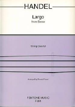 Largo - String Quartet HAENDEL Partition Quatuors - laflutedepan